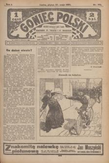 Goniec Polski.R.1, nr 105 (24 maja 1907) + dod.