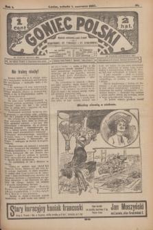 Goniec Polski.R.1, nr 111 (1 czerwca 1907)