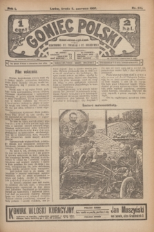 Goniec Polski.R.1, nr 114 (5 czerwca 1907)