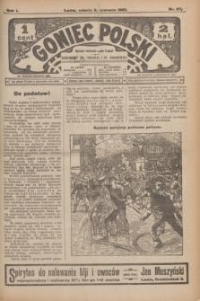 Goniec Polski.R.1, nr 117 (8 czerwca 1907)