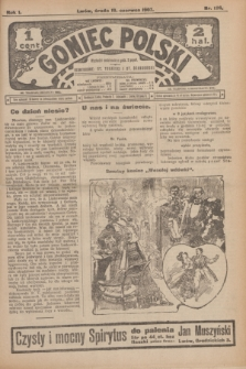 Goniec Polski.R.1, nr 126 (19 czerwca 1907)