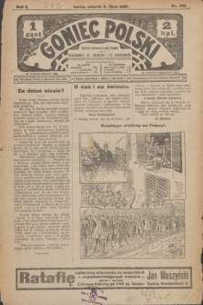 Goniec Polski.R.1, nr 136 (2 lipca 1907)