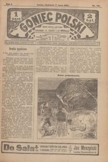 Goniec Polski.R.1, nr 141 (7 lipca 1907)