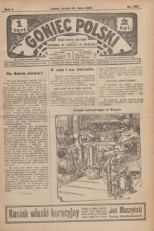 Goniec Polski.R.1, nr 143 (10 lipca 1907)