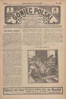 Goniec Polski.R.1, nr 144 (11 lipca 1907)