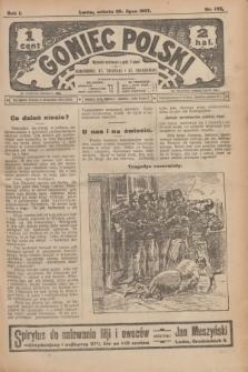 Goniec Polski.R.1, nr 152 (20 lipca 1907)