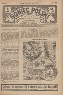 Goniec Polski.R.1, nr 155 (24 lipca 1907)