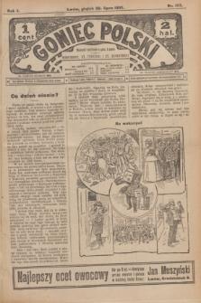 Goniec Polski.R.1, nr 157 (26 lipca 1907)