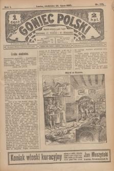 Goniec Polski.R.1, nr 159 (28 lipca 1907)