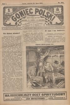 Goniec Polski.R.1, nr 160 (30 lipca 1907)