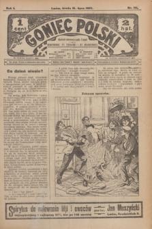 Goniec Polski.R.1, nr 161 (31 lipca 1907)