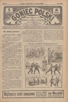 Goniec Polski.R.1, nr 162 (1 sierpnia 1907)