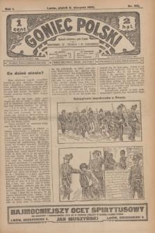 Goniec Polski.R.1, nr 163 (2 sierpnia 1907)