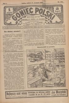 Goniec Polski.R.1, nr 164 (3 sierpnia 1907)