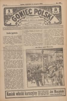 Goniec Polski.R.1, nr 165 (4 sierpnia 1907)