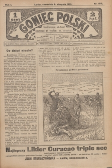 Goniec Polski.R.1, nr 168 (8 sierpnia 1907)