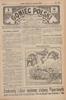 Goniec Polski.R.1, nr 172 (13 sierpnia 1907)