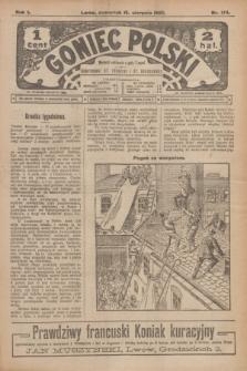 Goniec Polski.R.1, nr 174 (15 sierpnia 1907)