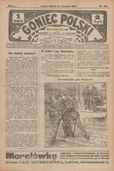 Goniec Polski.R.1, nr 175 (17 sierpnia 1907)