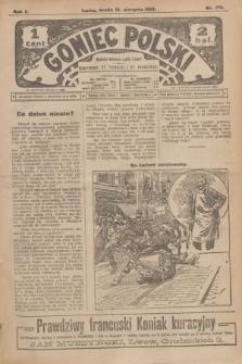 Goniec Polski.R.1, nr 178 (21 sierpnia 1907)