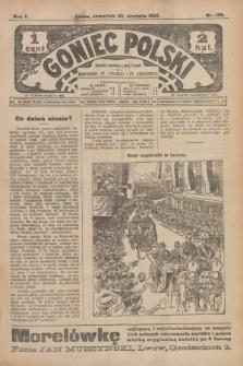 Goniec Polski.R.1, nr 179 (22 sierpnia 1907)