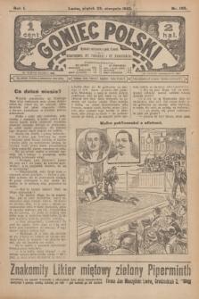 Goniec Polski.R.1, nr 180 (23 sierpnia 1907)