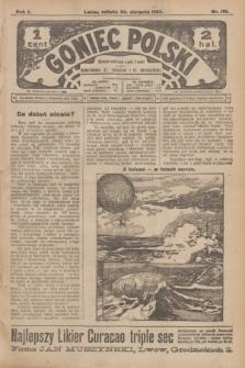 Goniec Polski.R.1, nr 181 (24 sierpnia 1907)