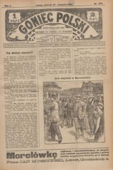 Goniec Polski.R.1, nr 183 (27 sierpnia 1907)