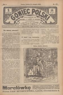 Goniec Polski.R.1, nr 187 (31 sierpnia 1907)