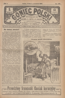 Goniec Polski.R.1, nr 190 (4 września 1907)