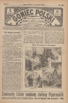 Goniec Polski.R.1, nr 196 (11 września 1907)