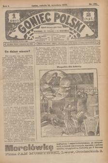 Goniec Polski.R.1, nr 199 (14 września 1907)