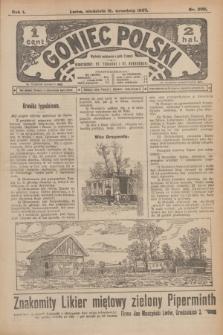 Goniec Polski.R.1, nr 200 (15 września 1907)
