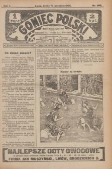 Goniec Polski.R.1, nr 202 (18 września 1907)