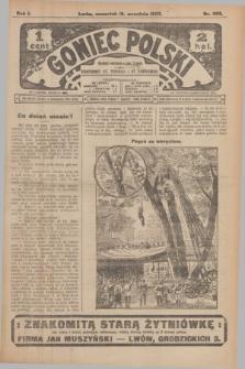 Goniec Polski.R.1, nr 203 (19 września 1907)
