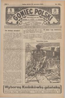 Goniec Polski.R.1, nr 204 (20 września 1907)