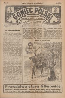 Goniec Polski.R.1, nr 205 (21 września 1907)