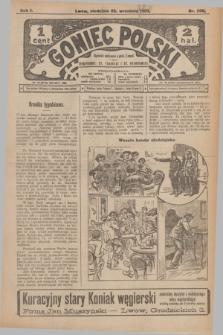 Goniec Polski.R.1, nr 206 (22 września 1907)