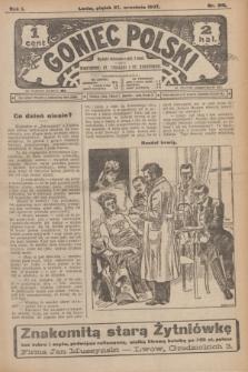 Goniec Polski.R.1, nr 210 (27 września 1907)