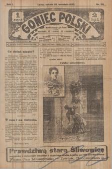 Goniec Polski.R.1, nr 211 (28 września 1907)