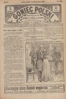 Goniec Polski.R.1, nr 216 (4 października 1907)