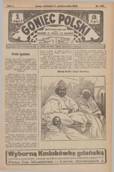 Goniec Polski.R.1, nr 218 (6 października 1907)