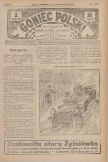 Goniec Polski.R.1, nr 224 (13 października 1907)