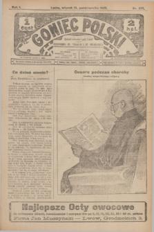 Goniec Polski.R.1, nr 225 (15 października 1907)