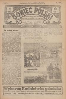 Goniec Polski.R.1, nr 229 (19 października 1907)