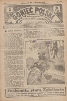 Goniec Polski.R.1, nr 232 (23 października 1907)