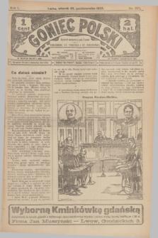 Goniec Polski.R.1, nr 237 (29 października 1907)