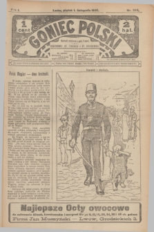 Goniec Polski.R.1, nr 240 (1 listopada 1907)