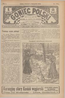 Goniec Polski.R.1, nr 242 (5 listopada 1907)