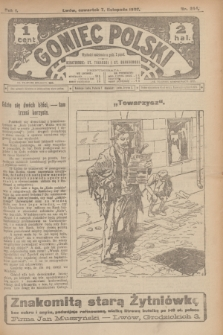 Goniec Polski.R.1, nr 244 (7 listopada 1907)